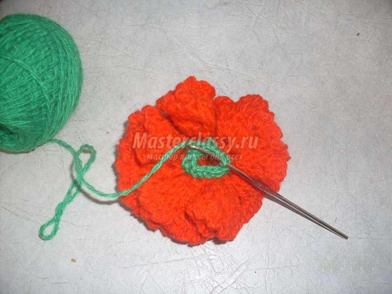 вязание крючком цветы