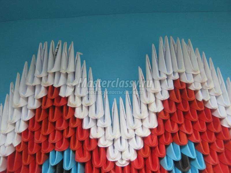 оригами из бумаги валентинки
