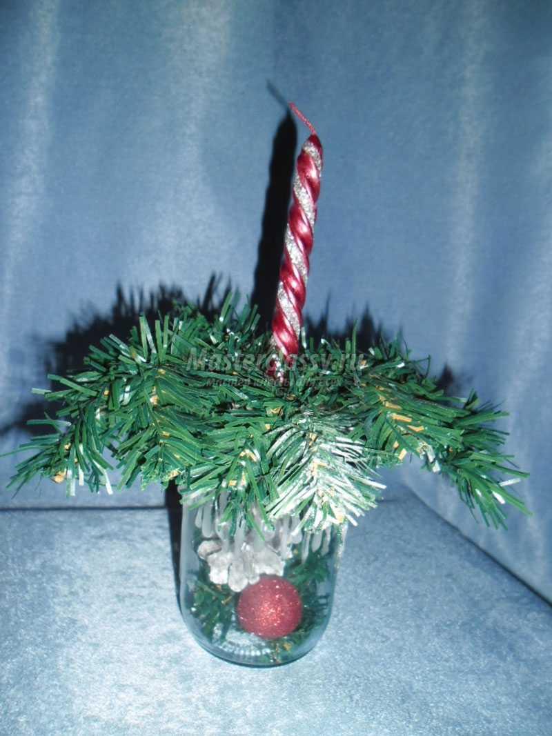 подсвечник рождественский