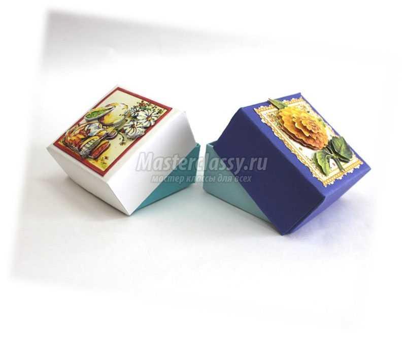 поделки из цветного картона