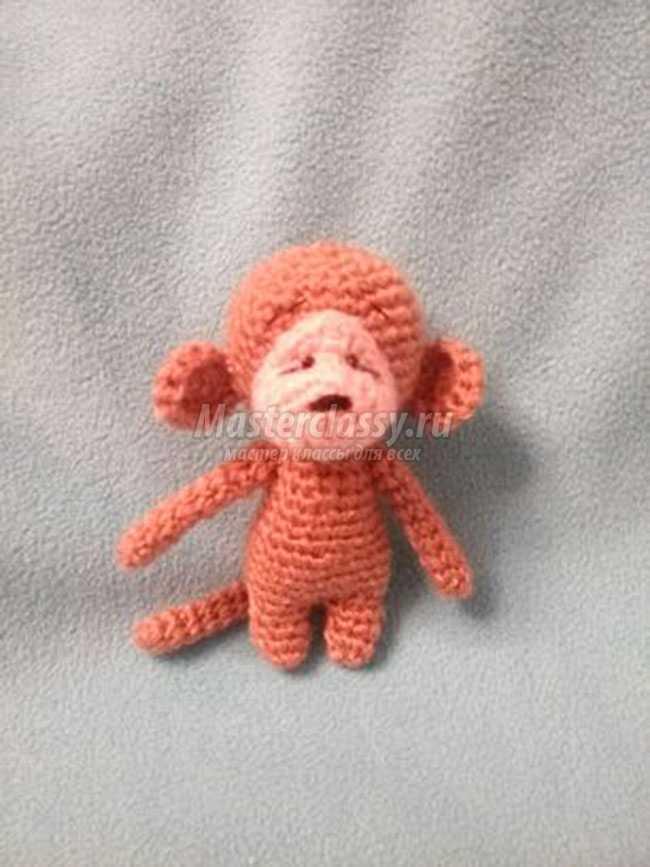 обезьянки амигуруми крючком