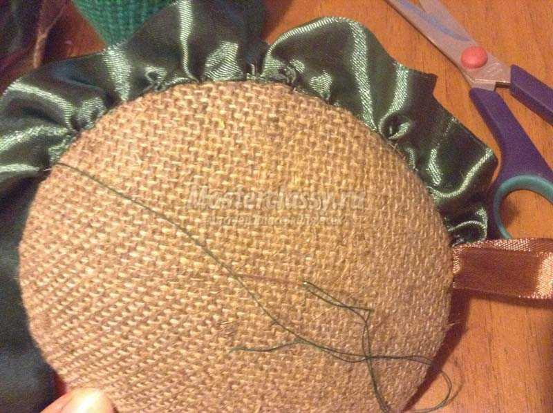 вышивка лентами пошагово
