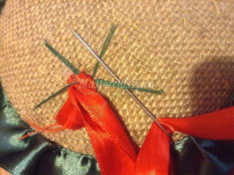 вышивка лентами для начинающих пошагово