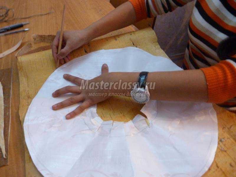 поделки из бересты своими руками