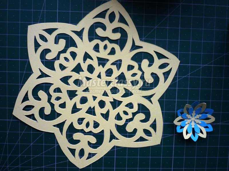 как сделать из бумаги новогоднюю игрушку