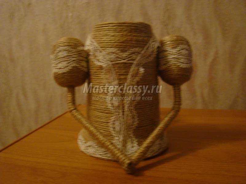 обезьянка из шпагата своими руками