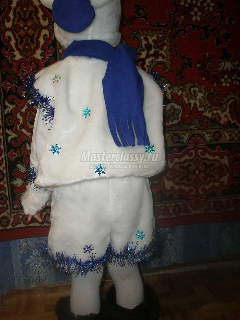 детские новогодние костюмы своими руками фото