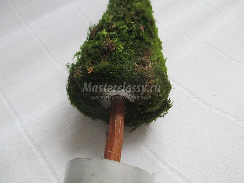 елочка из природного материала своими руками