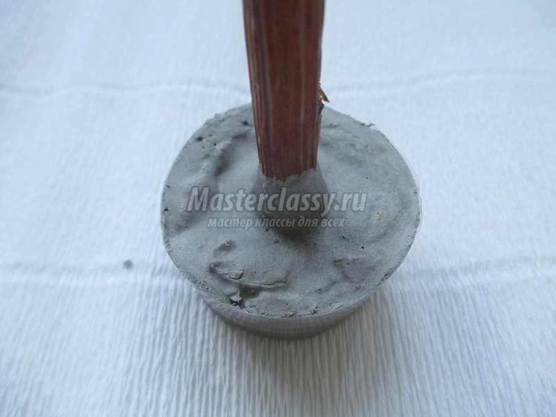 елочка из природных материалов