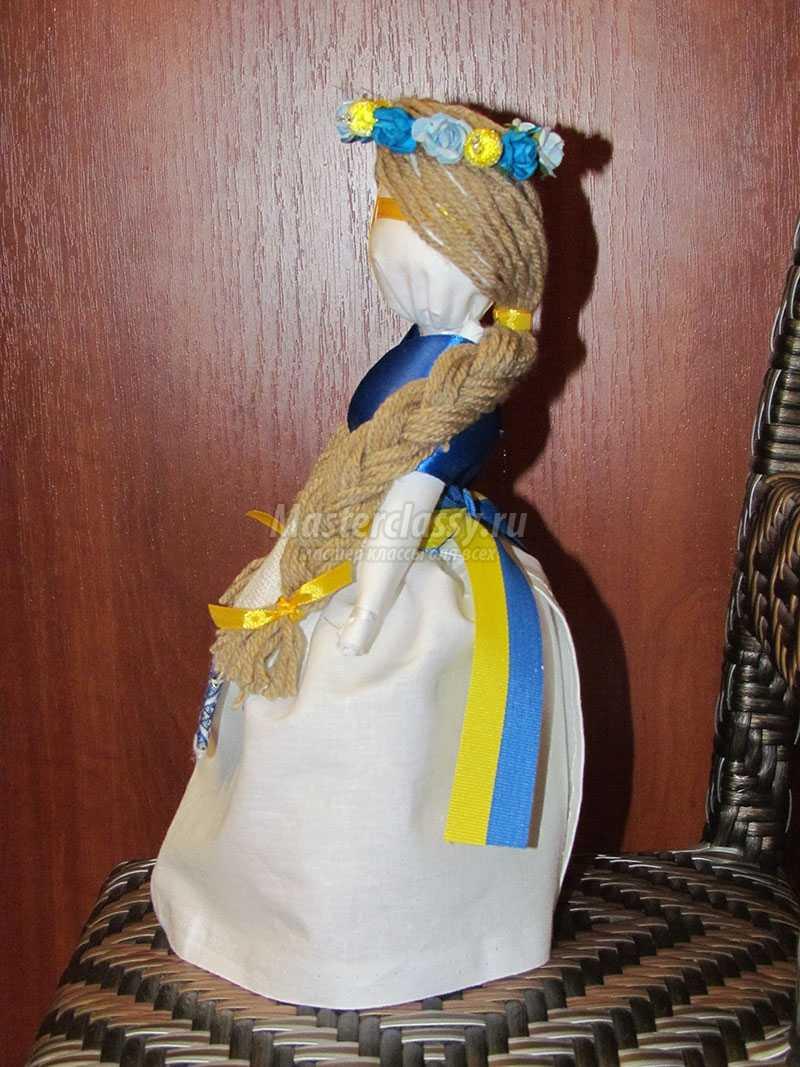 Кукла мотанка из ниток своими руками пошагово фото 875