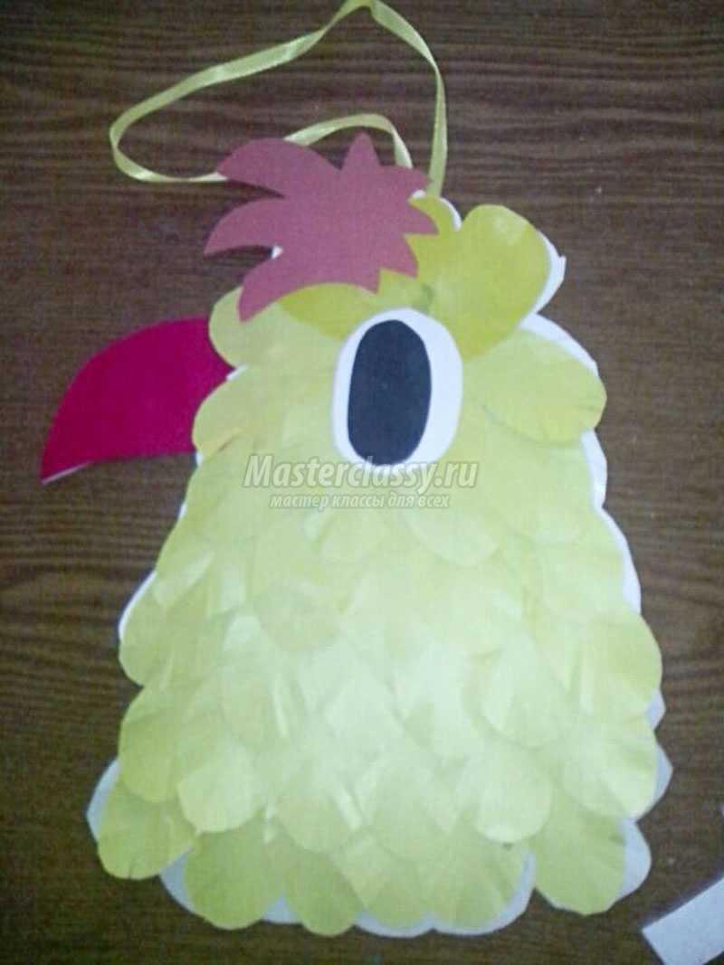 как сделать елочную игрушку из цветной бумаги