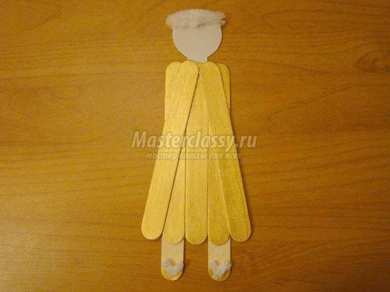 поделки из медицинских шпателей своими руками