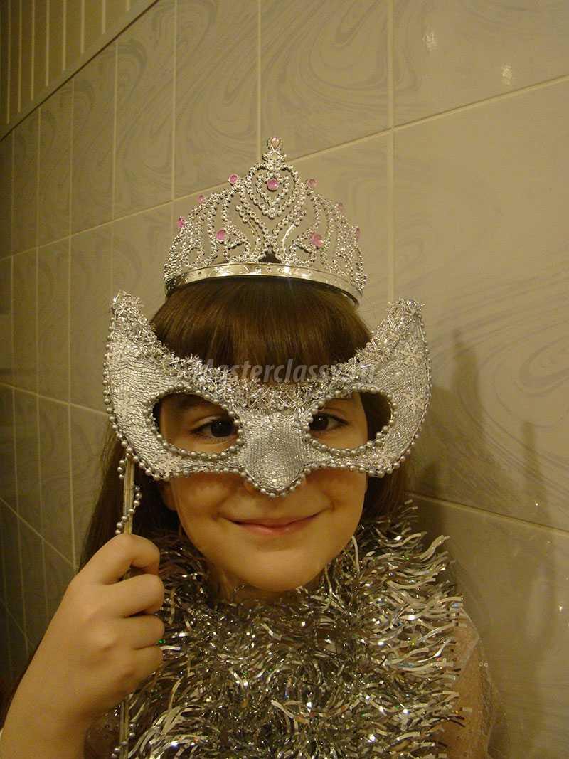 карнавальная маска крючком схема