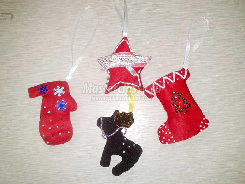 новогодние игрушки своими руками на елку мастер