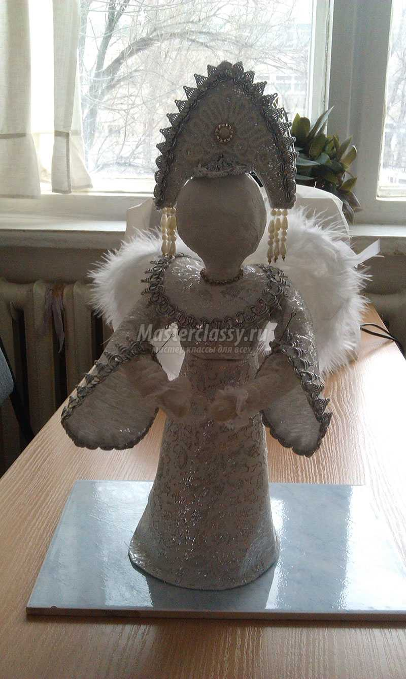 кукла из папье маше мастер класс