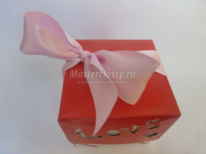 подарочная коробка своими руками из картона