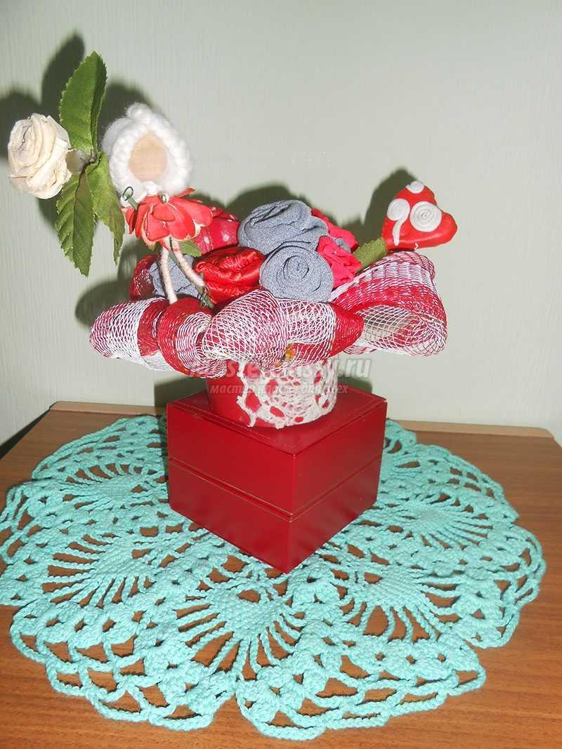 подарки на день святого валентина своими руками