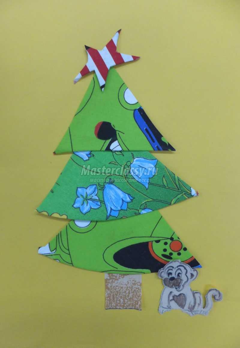 как сделать рождественскую елку своими руками