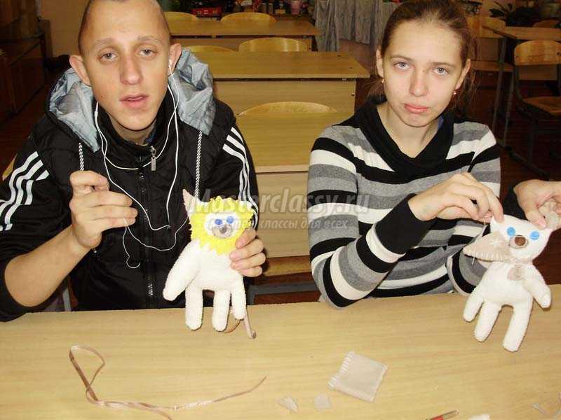 игрушки из перчаток своими руками