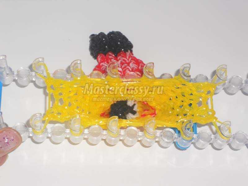 плетение из резинок миньоны