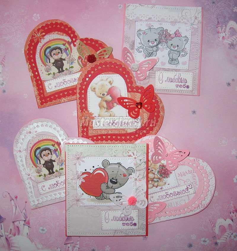 валентинки скрапбукинг мастер класс
