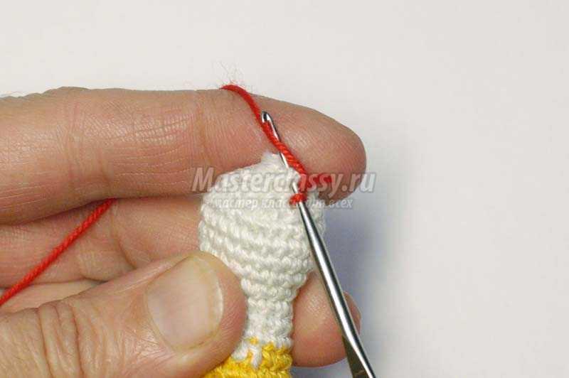 вязаные игрушки крючком петушок