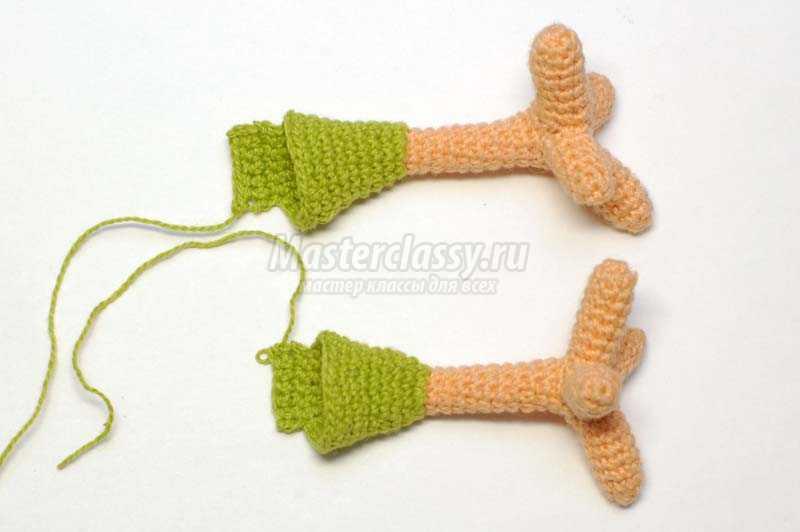Схемы вязаного петушка