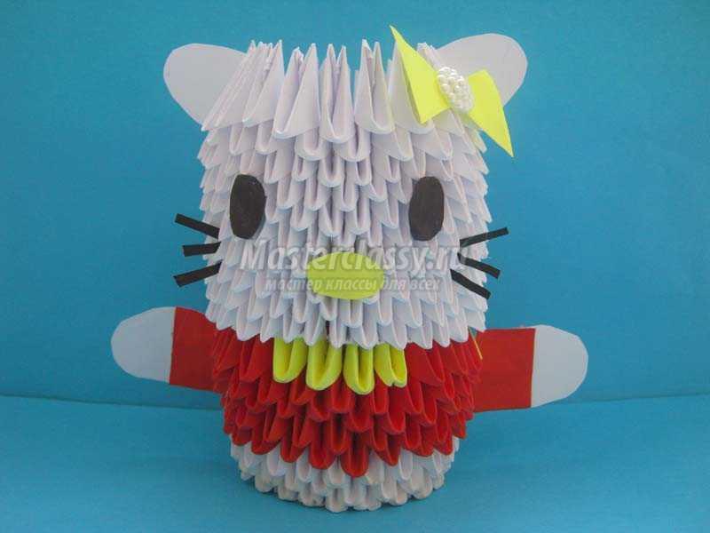 Модульное оригами схема сборки китти фото 749