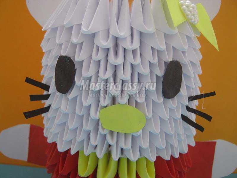 Модульное оригами схема сборки китти фото 636