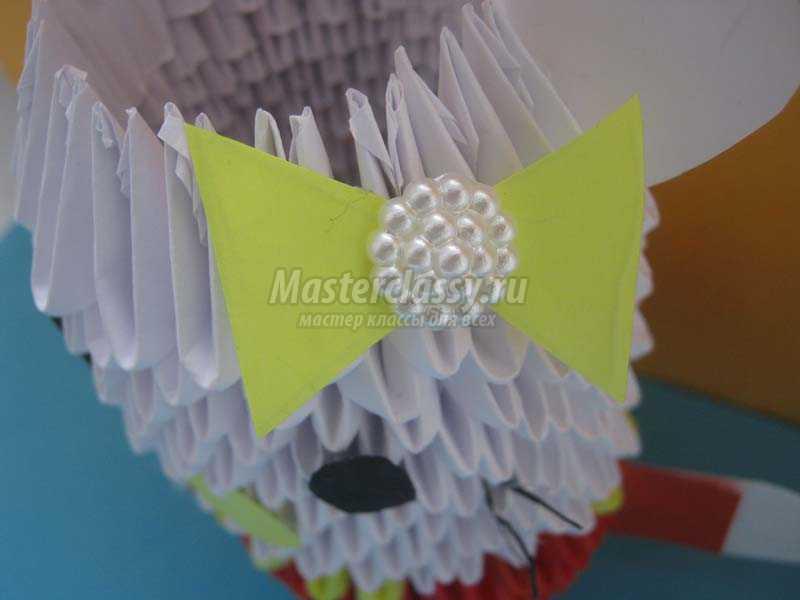 модульное оригами китти сборка