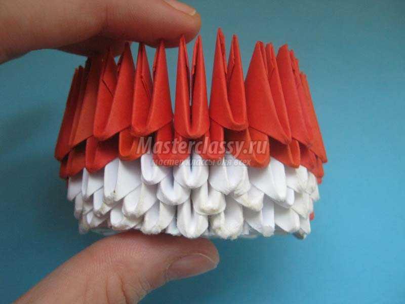 модульное оригами китти