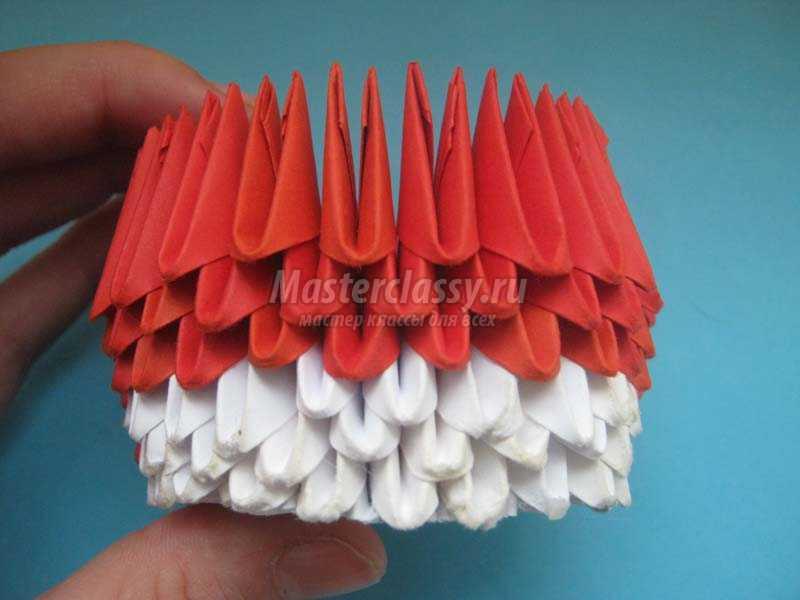 модульное оригами китти схема