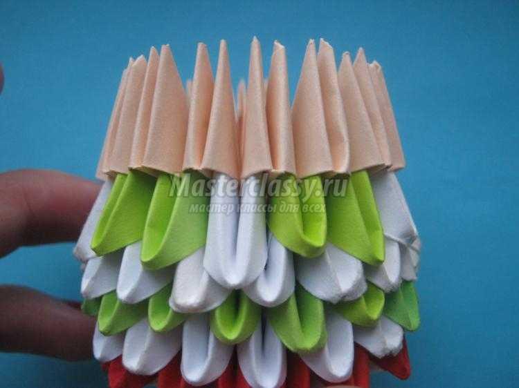 кукла в технике модульно оригами