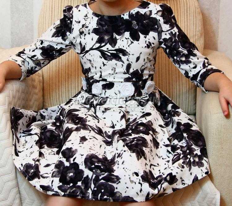 69fd297832a Платье для девочки своими руками на 8-9 лет. Мастер-класс с ...