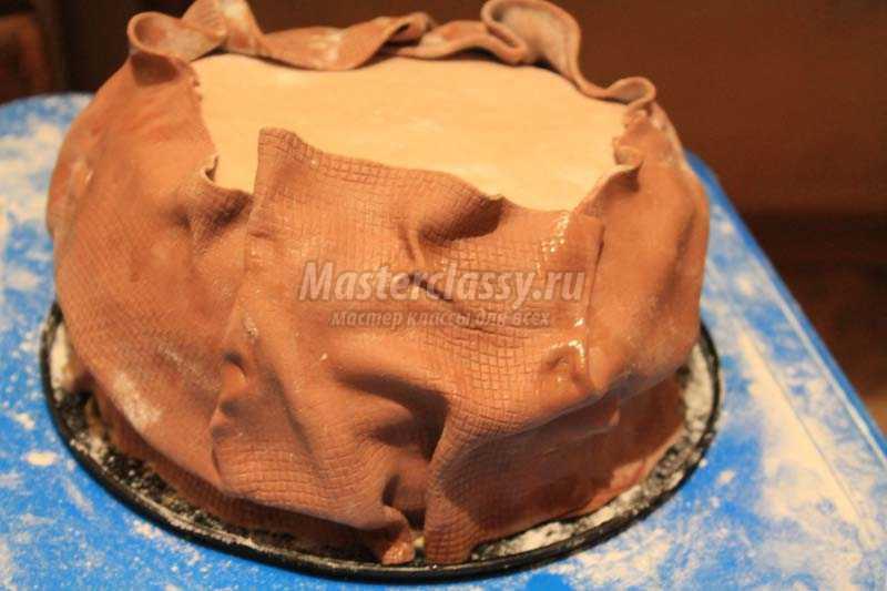 торт мешок с деньгами мастер класс
