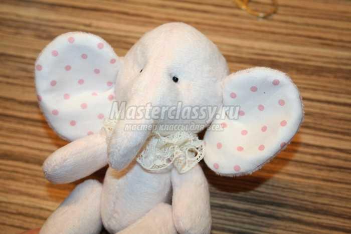 Мягкая игрушка слоника своими руками