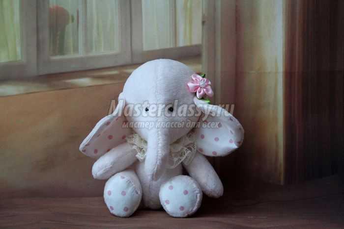 Игрушки слоники своими руками