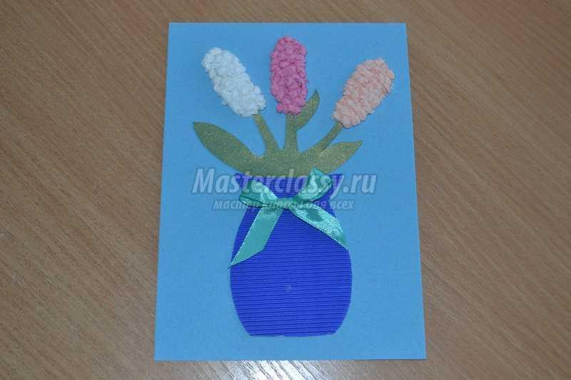 крупные, хорошо открытка на 8 марта маме из салфеток сад