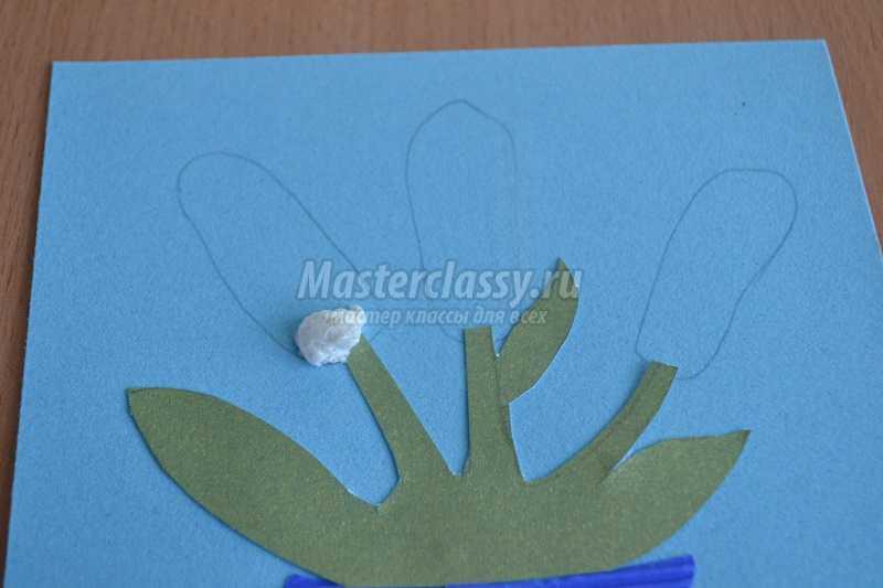 открытки из цветов из салфеток