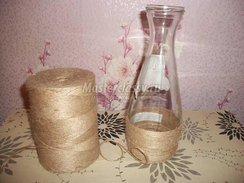 ваза из шпагата