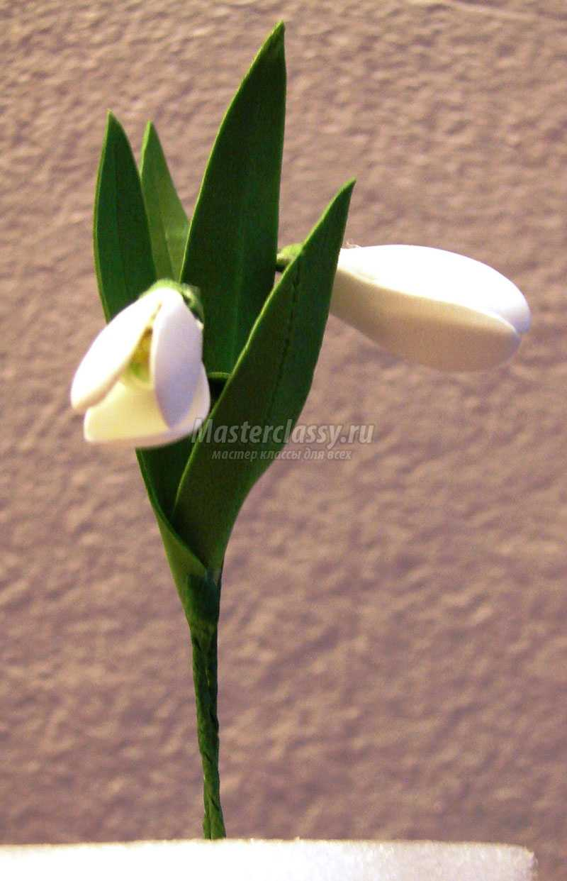 цветы из фоамирана видео