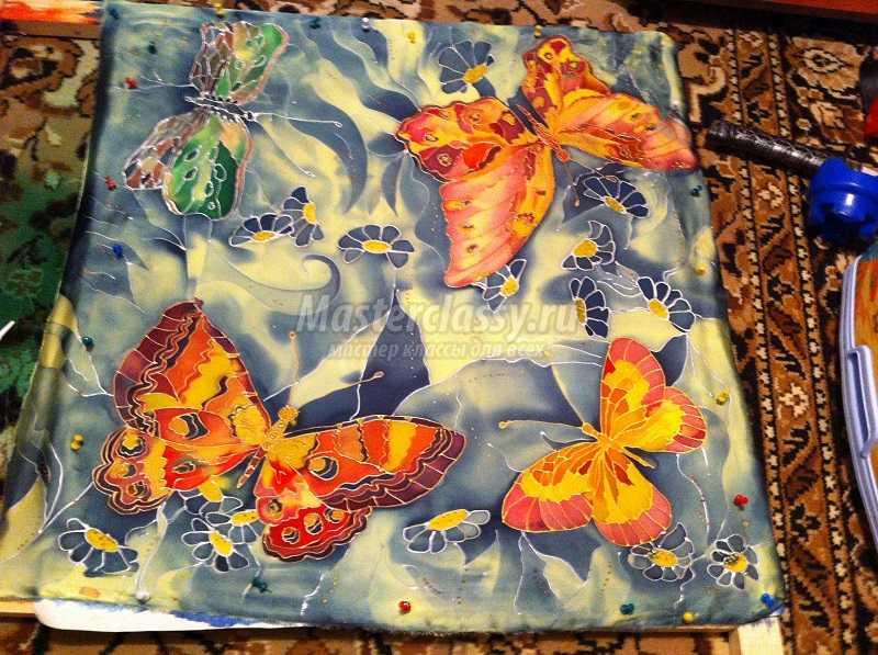 акриловая роспись ткани