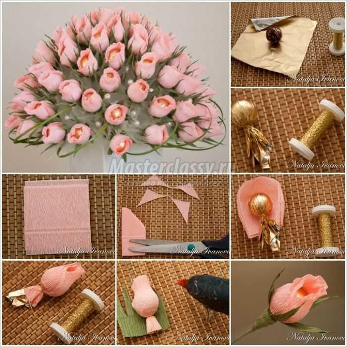 Идеи для подарка из конфет своими руками 188
