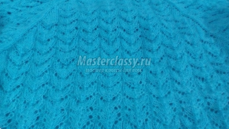 вязаный детский свитер