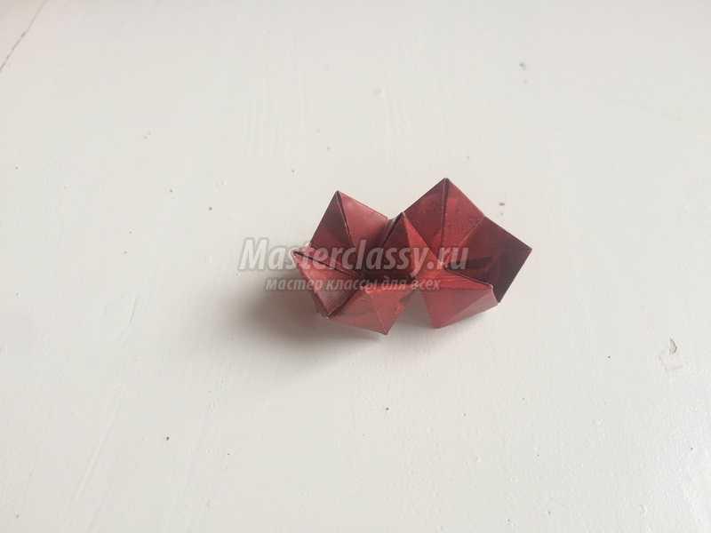 объемная валентинка из бумаги
