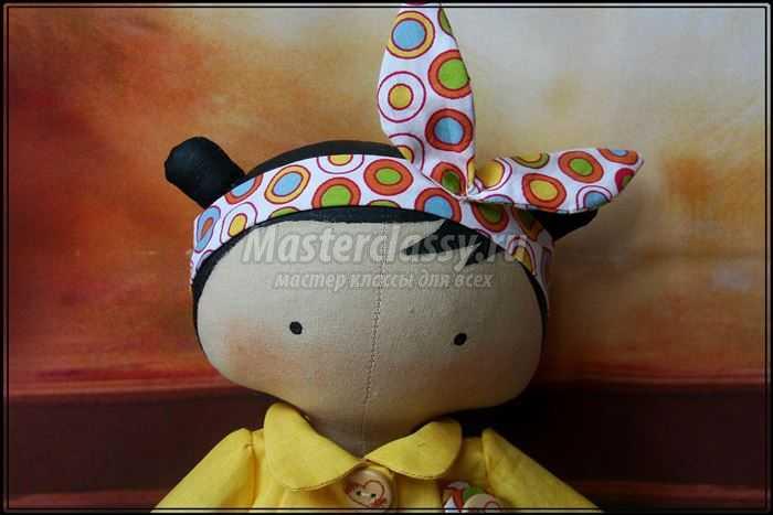 Новая кукла Тильда Тоя