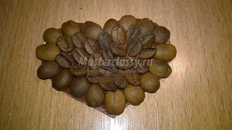 магниты из кофейных зерен своими руками