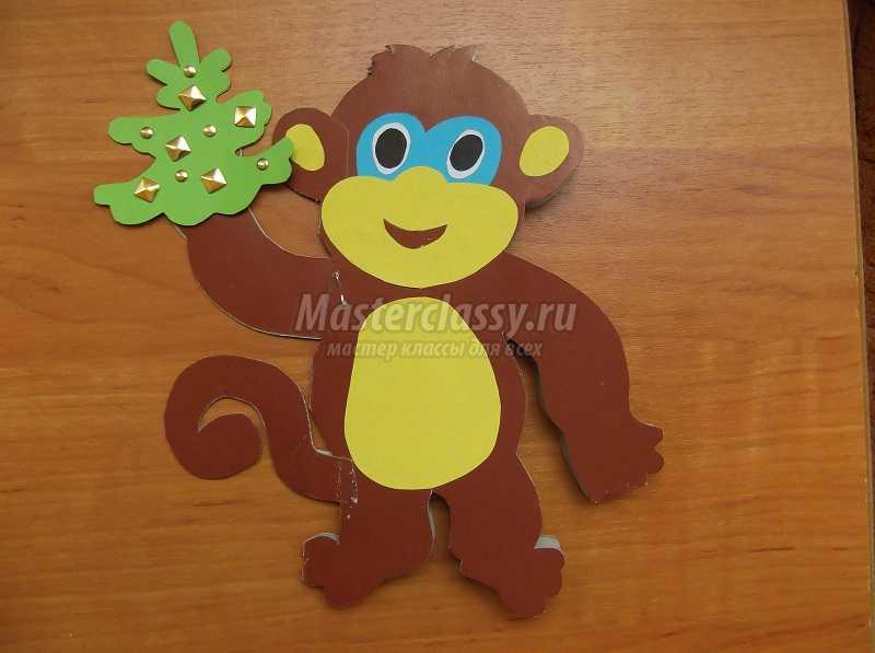 новогодние открытки 2016 обезьяны