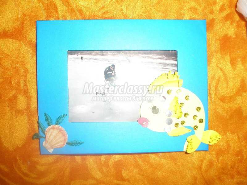 рамки для фото из картона и бумаги