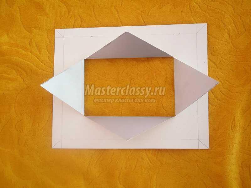 рамка для фото из картона
